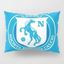 Naples Horse Football badge Pillow Sham