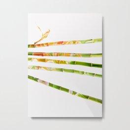 Namaste Bamboo Harmony Metal Print