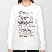 downton abbey Long Sleeve T-shirts featuring Downton Abbey by giovanamedeiros