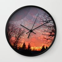 neverland Wall Clocks featuring Neverland by Olivia Joy StClaire