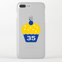 kd troll cupcakes Clear iPhone Case