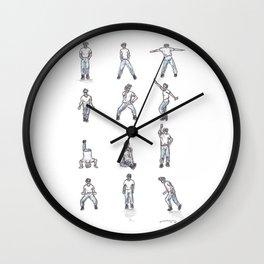 Napoleon Dynamite Dance Wall Clock