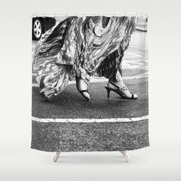 Fast as you can Shower Curtain