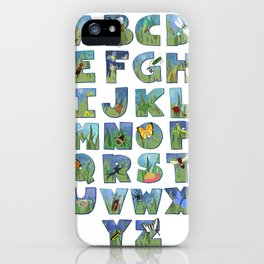 A Buggy Alphabet iPhone Case