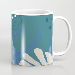 Modern Split Leaf Coffee Mug