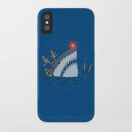 Rudolph Shark iPhone Case