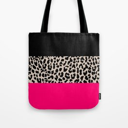 Leopard National Flag IV Tote Bag