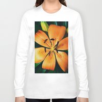 lily Long Sleeve T-shirts featuring Lily by Falko Follert Art-FF77