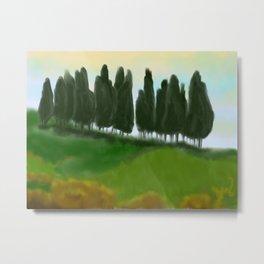 Tree Hill Metal Print