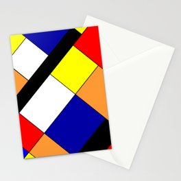 Mondrian #18 Stationery Cards