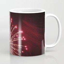 Red Exploding Firework Coffee Mug