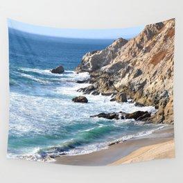 CALIFORNIA COAST - BLUE OCEAN Wall Tapestry
