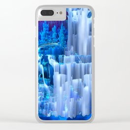 Forest Falls Clear iPhone Case