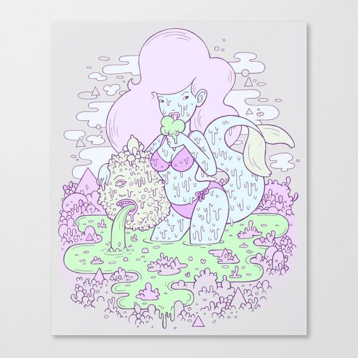 swamp thing Canvas Print