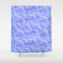 Purple Forest Shower Curtain