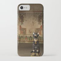 egypt iPhone & iPod Cases featuring Egypt temple  by nicky2342