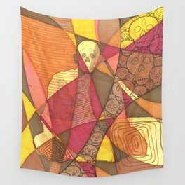 Meditator #5 Wall Tapestry