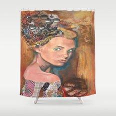 Fair trade  Shower Curtain