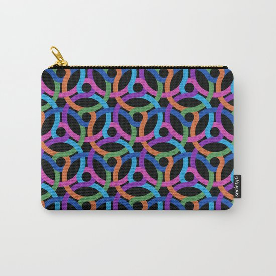 Colorful rings Carry-All Pouch