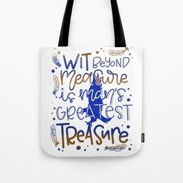 Wit beyond measure Tote Bag