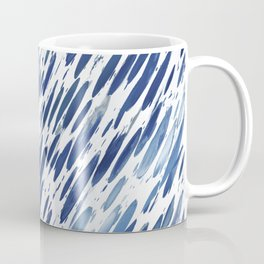 Boho Blue Brushstroke Coffee Mug
