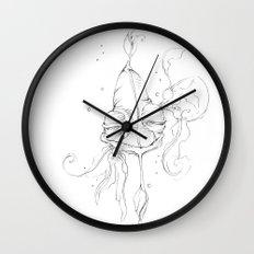 Old Man Fish Wall Clock