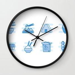 Japapense Menu Wall Clock