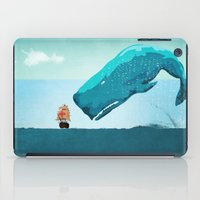 the whale iPad Cases featuring Whale by mark ashkenazi