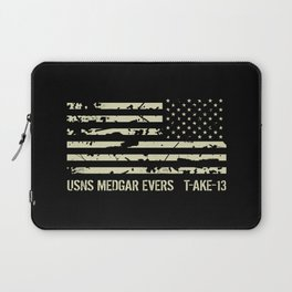 USNS Medgar Evers Laptop Sleeve