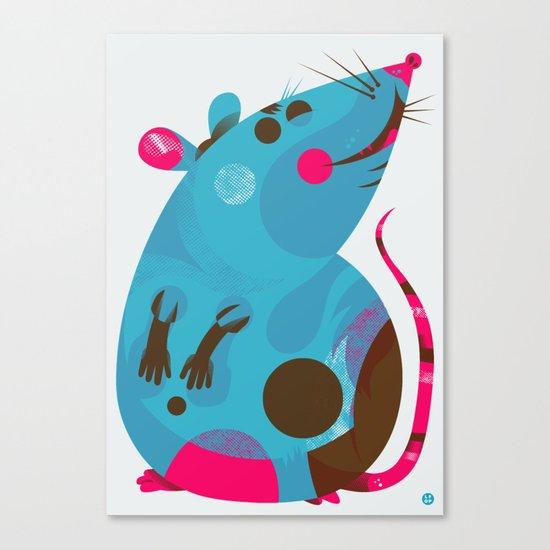 Ratso Canvas Print