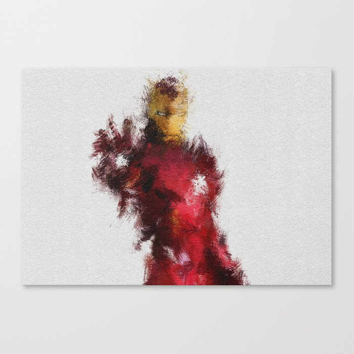 Made of Iron Canvas Print