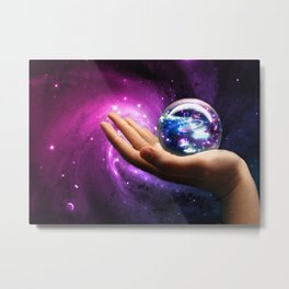 It's all in your hands Metal Print
