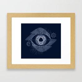 ODIN'S EYE Framed Art Print