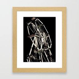Double Wheel Framed Art Print