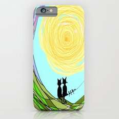 Kitty Cat Love iPhone 6 Slim Case