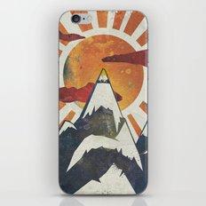 Mount Spitfire iPhone & iPod Skin