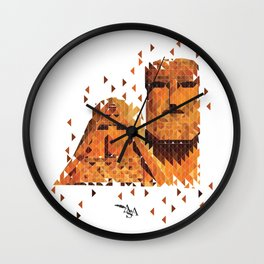 Mamik and Babik Wall Clock
