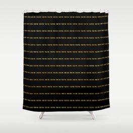 F@#K YOU Pinstripe II Shower Curtain