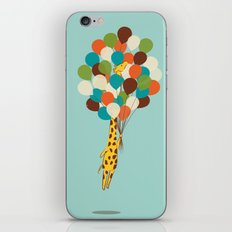Floating Away iPhone Skin