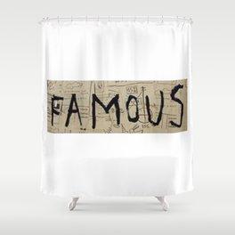 Basquiat Famous Shower Curtain