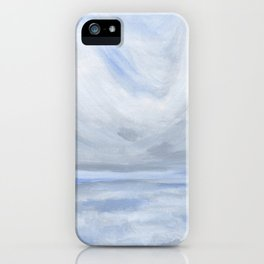Unclear - Moody Gray Ocean Seascape iPhone Case