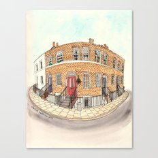 London by Charlotte Vallance Canvas Print