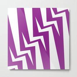 Stairway Series - Magenta Metal Print