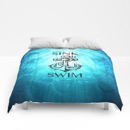 SINK OR SWIM Comforters