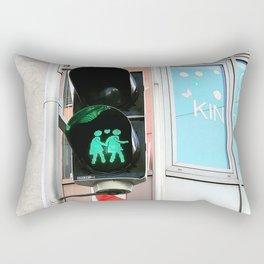 Love Is Strong Rectangular Pillow