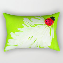 Ladybug Trail Rectangular Pillow
