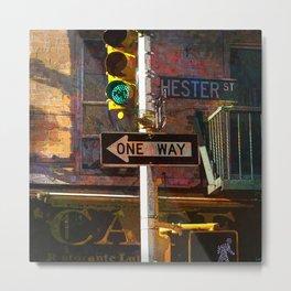 Hester Street Metal Print