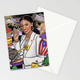 Let's Swear In Latinos Stationery Cards