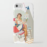 dolly parton iPhone & iPod Cases featuring Dolly by Cut and Paste Lady