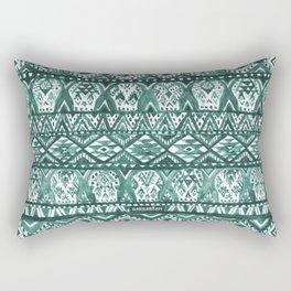 AZTECHIE Watercolor Skull Pattern Rectangular Pillow